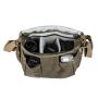 TARION 相机包单肩摄影包斜挎佳能专业便携复古微单单反背包